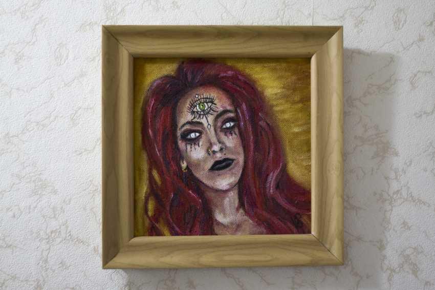 Ekaterina Steponenkova. Oil painting diana cartisano - photo 1