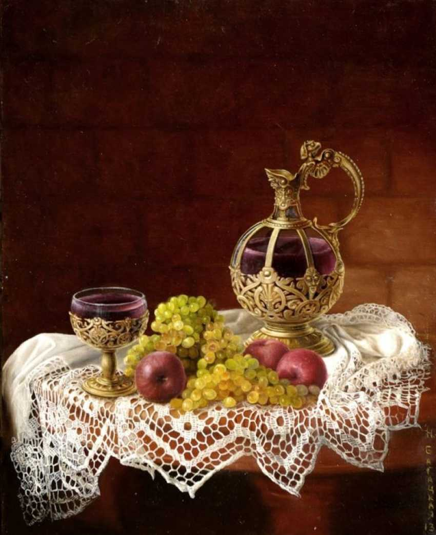 Nataliia Bahatska. Still life with Wine - photo 1