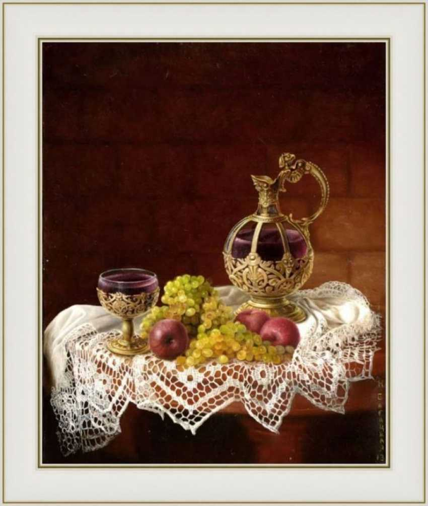 Nataliia Bahatska. Still life with Wine - photo 3