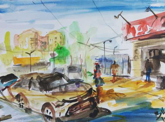 Bob Usoroh. Car wash on Abai street - photo 1