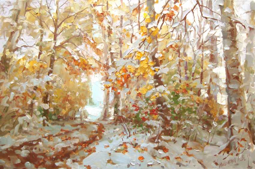 Andrey Mishagin. Winter waited nature - photo 1