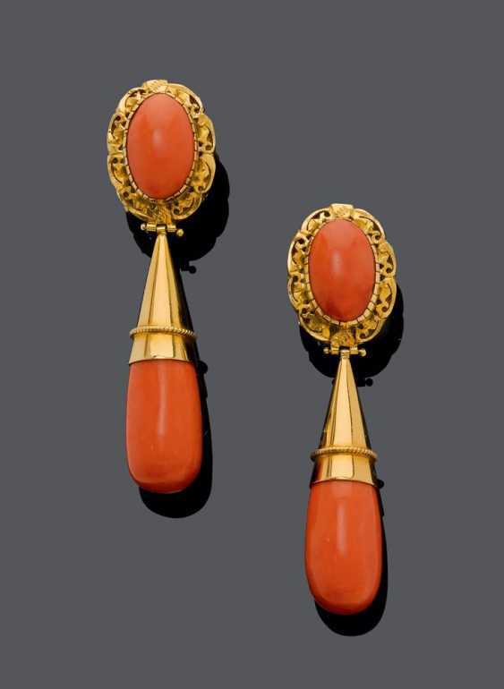 Earrings Coral - photo 1