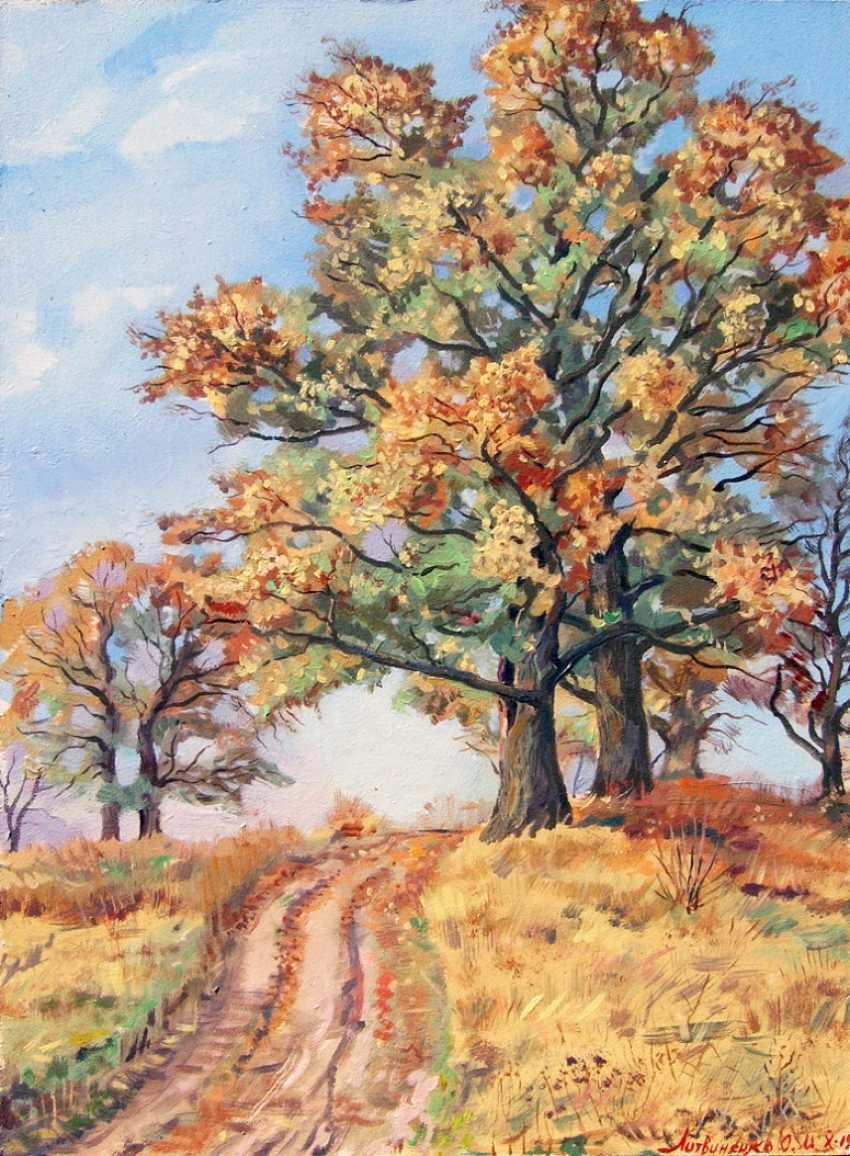 Oleg Lytvynenko. The oaks at Millers. - photo 1