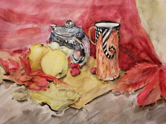 Tetiana Klymenko. Still life with kettle - photo 1
