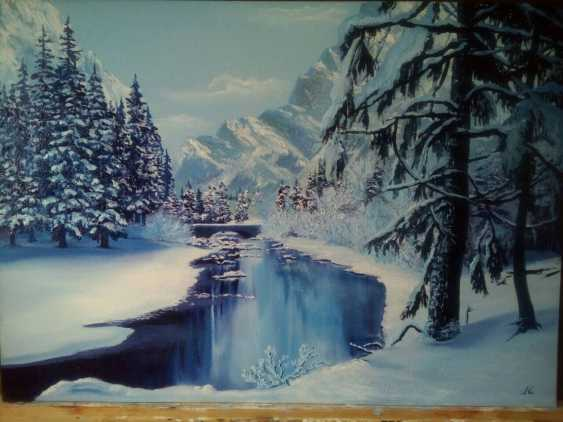 Nataly Lopatkina. Winter river - photo 1
