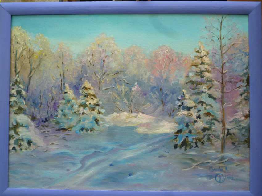 Marina Ivanova. winter morning - photo 1