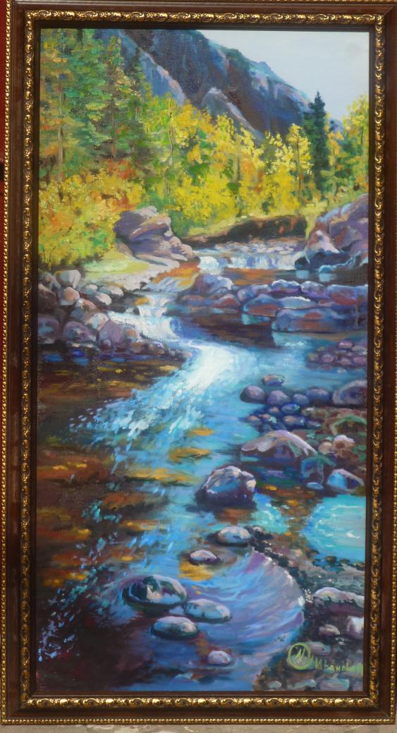 Marina Ivanova. mountain river - photo 1