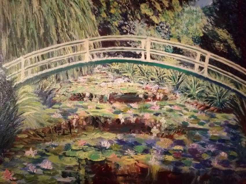 Vera Ustinova. Pond Monet - photo 1