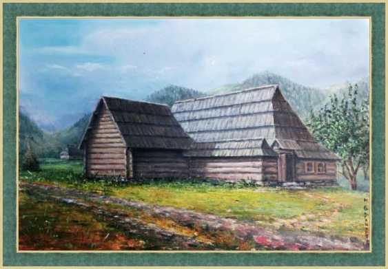 Nataliia Bahatska. Hut Grazhda - photo 2