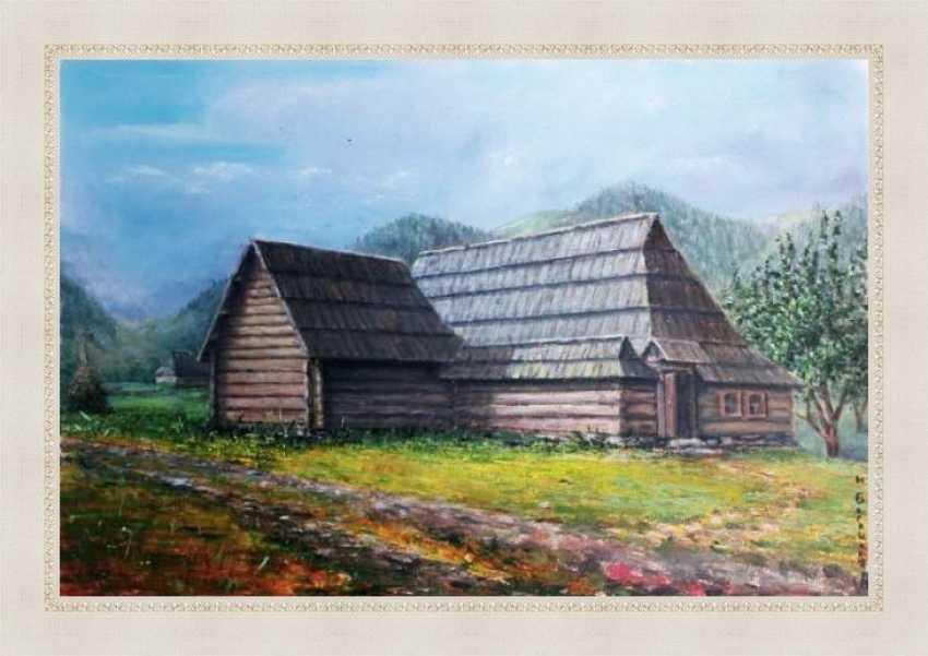Nataliia Bahatska. Hut Grazhda - photo 3