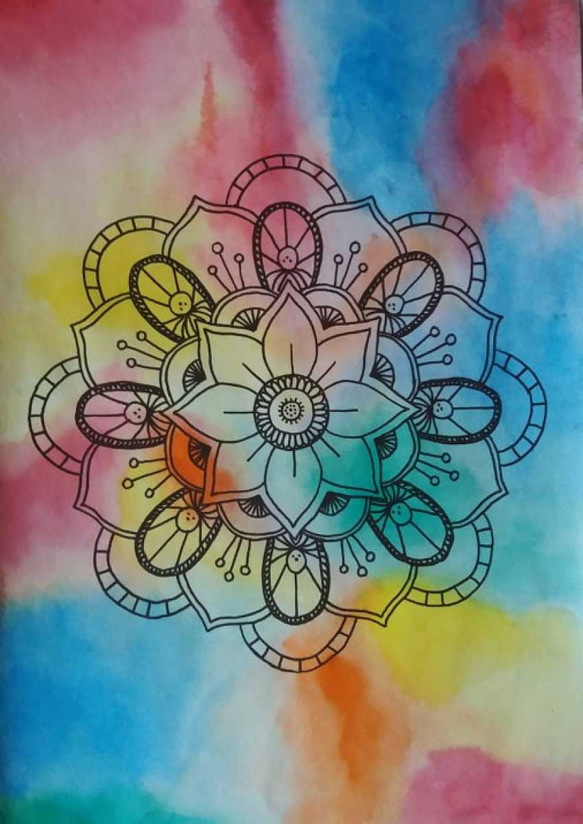 Mariia Lysa. Mandala of love(Mandala of love) - photo 1