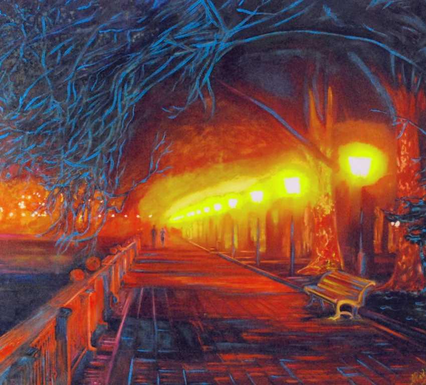 Alex Pelesh. Neon fancy nights. - photo 1