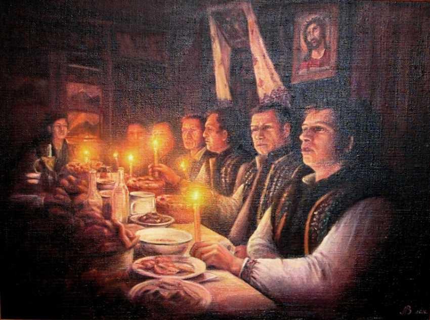 Nataliia Bahatska. Festive supper - photo 1