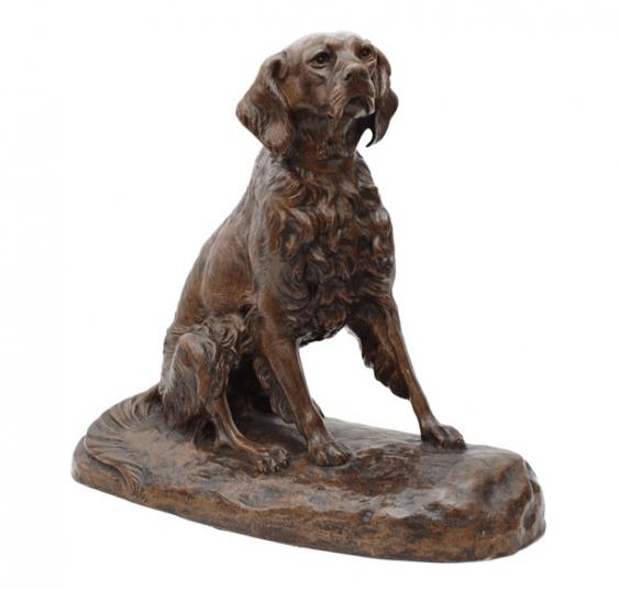 Dog Clovis Edmund Masson (1838-1913) - photo 1
