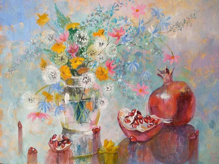 Evgenia Erkenova. Still life with pomegranates - photo 1