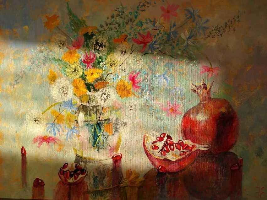 Evgenia Erkenova. Still life with pomegranates - photo 2