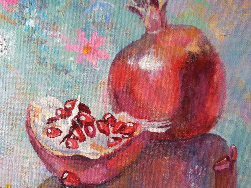 Evgenia Erkenova. Still life with pomegranates - photo 3