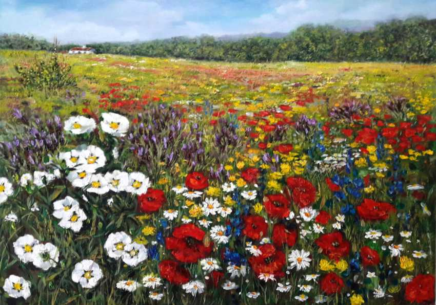 Svitlana Antonova. A carpet of flowers - photo 1