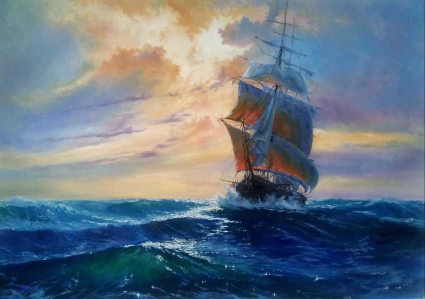 Yury Apoyants. Sail - photo 1