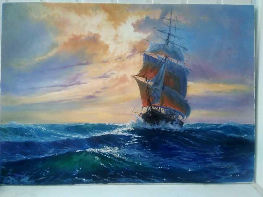 Yury Apoyants. Sail - photo 3