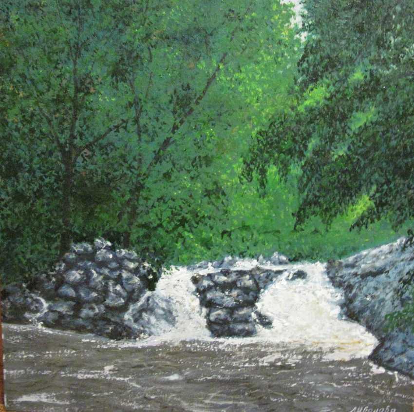 Lidiya Ivanova. Mountain river - photo 1