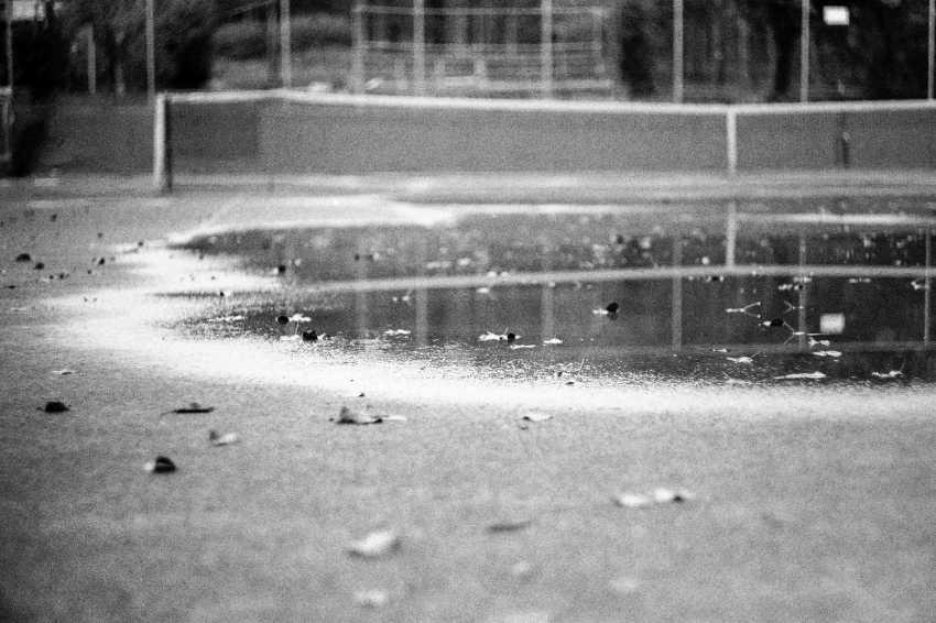"Adam Kypriadis. ""Tennis Court"", Shot on film - photo 1"