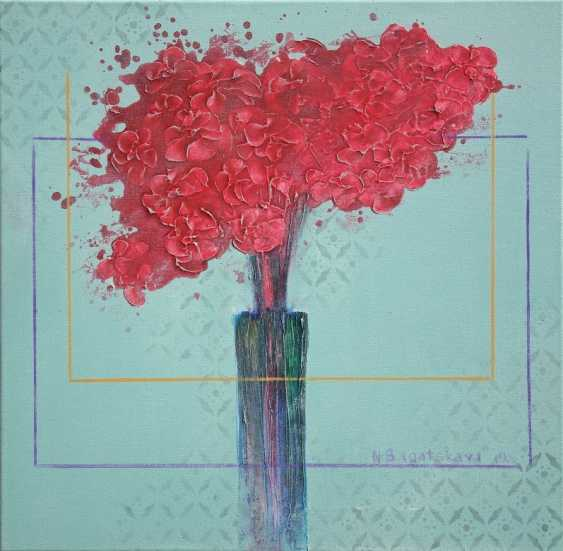 Nataliia Bahatska. Still life with red flowers - photo 1