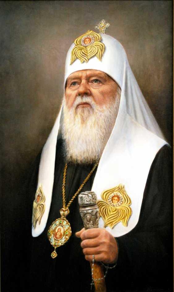 Nataliia Bahatska. Patriarch Filaret - photo 1