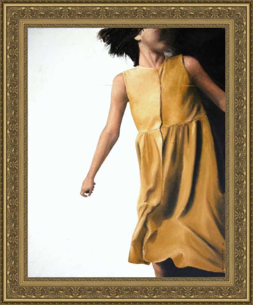 Nataliia Bahatska. Girl in a Yellow Dress - photo 2