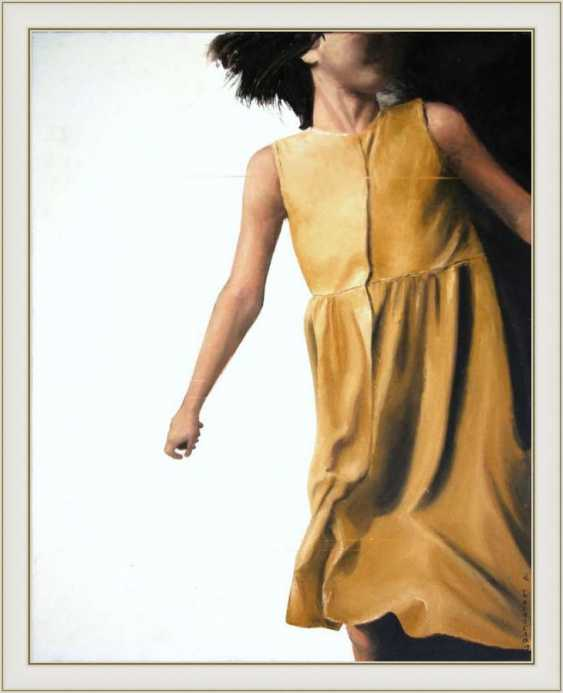 Nataliia Bahatska. Girl in a Yellow Dress - photo 3