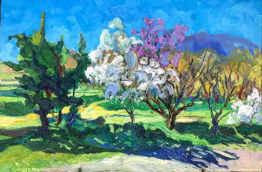 Tigran Sargsyan. Cherry blossoms - photo 1