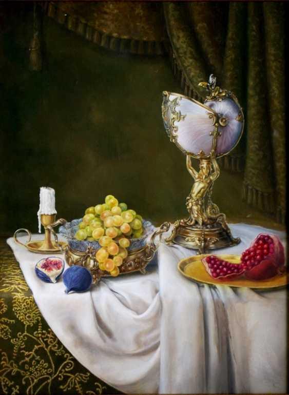 Nataliia Bahatska. Still Life with Grapes and Figs. - photo 1