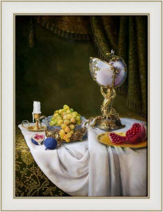 Nataliia Bahatska. Still Life with Grapes and Figs. - photo 3