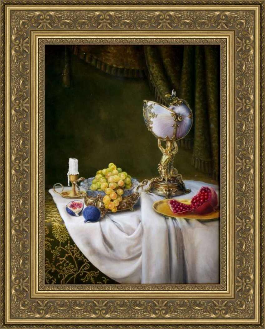 Nataliia Bahatska. Still Life with Grapes and Figs. - photo 4