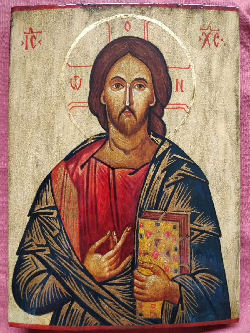 Artem Kopaihorenko. Icon of Jesus Christ - photo 1