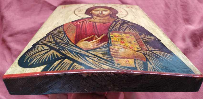 Artem Kopaihorenko. Icon of Jesus Christ - photo 4