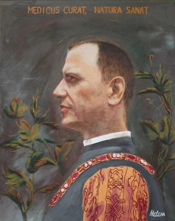 Lena Britova. Exemplo de retrato. An example of a portrait. - photo 1