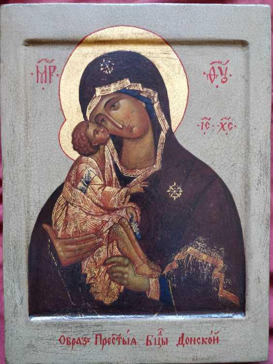 Artem Kopaihorenko. Donskay Mother of God ,Holy Virgin Mary - photo 1