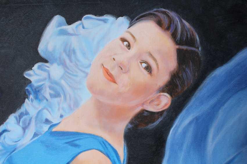 Lena Britova. Exemplo de retrato. Fragmento. An example of a portrait. Fragment. - photo 1