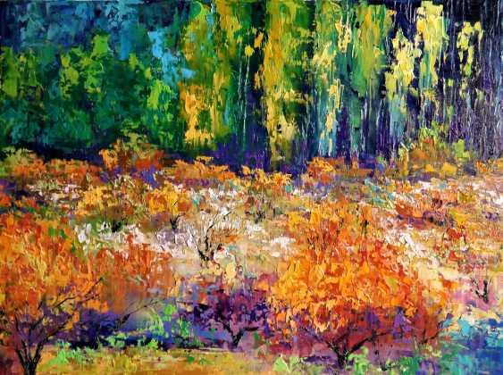 Sergey Efremov. Autumn Peach garden - photo 1