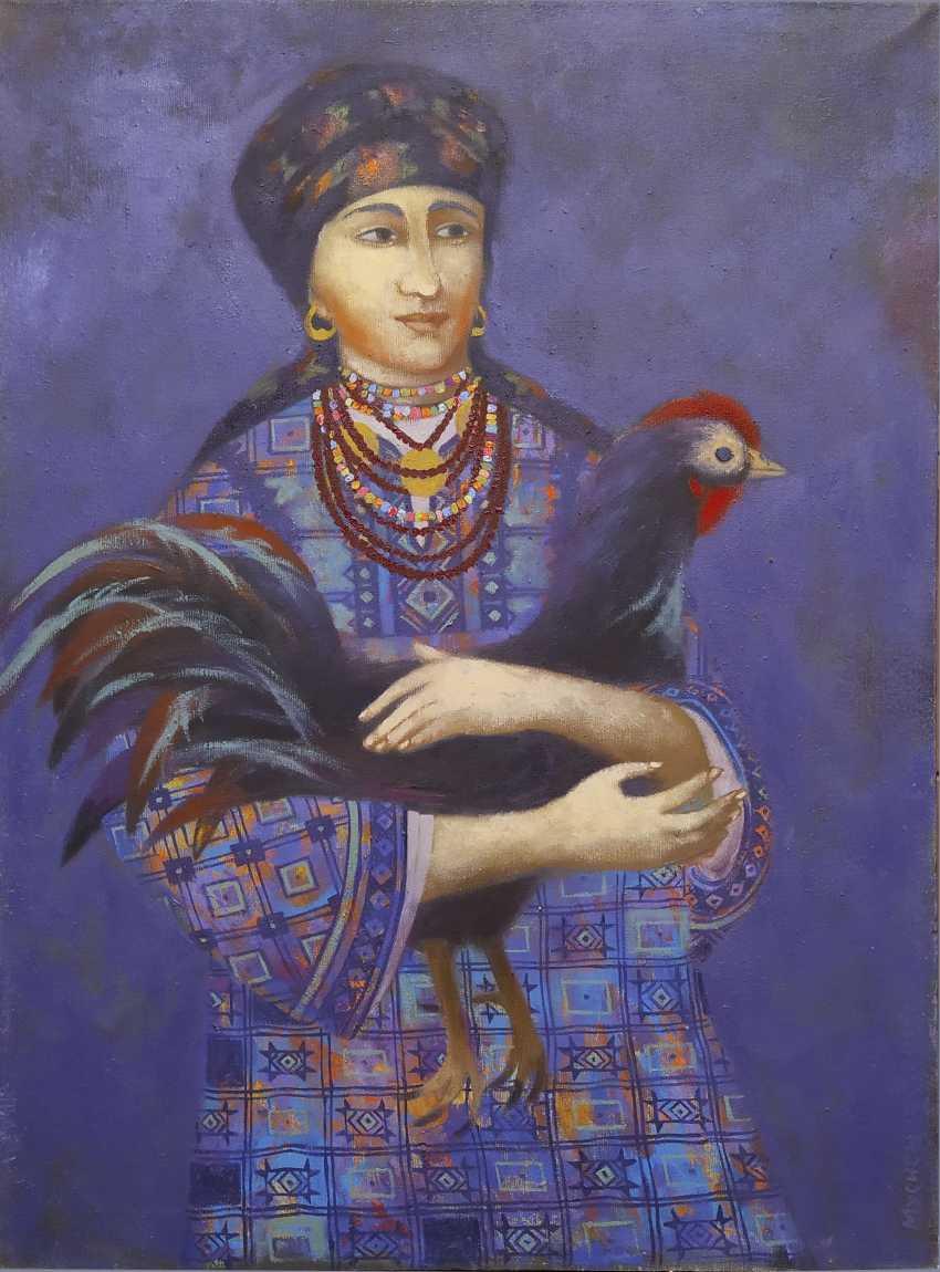Roman Musiienko. Girl with black cock - photo 1