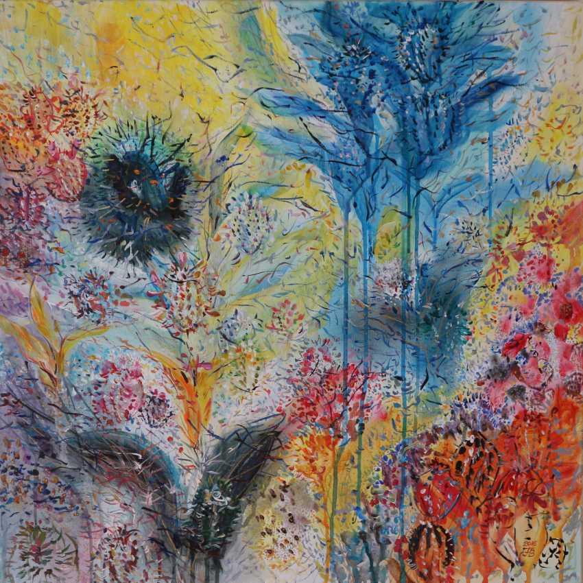 Florina Breazu. Blumen und Vögel - Foto 1