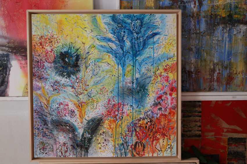 Florina Breazu. Blumen und Vögel - Foto 2