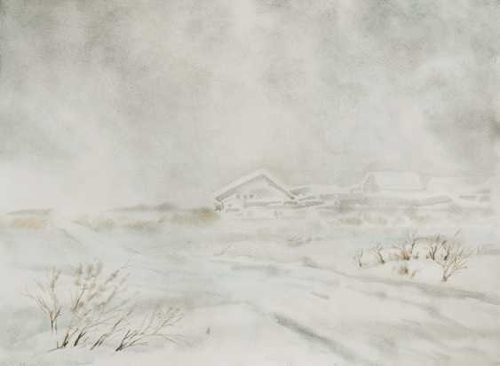 Smbat Bagdasarian. Snow storm - photo 1