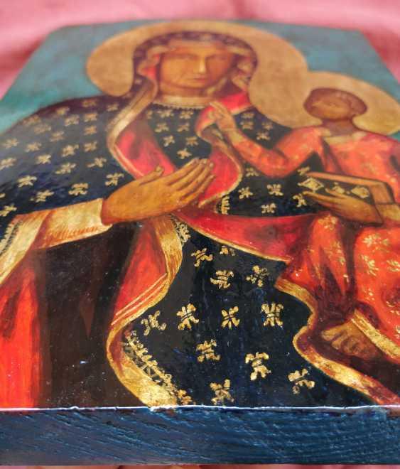 Artem Kopaihorenko. Black Madonna, Icon Our Lady of Czestochowa ,Madonna and Child, Catholic paintings - photo 3