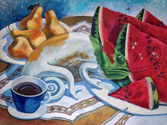 Sviatlana Vetrava. Breakfast and a Cup of coffee - photo 1