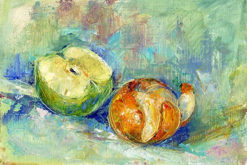 Elena Cherevatenko. Still life with fruit - photo 1