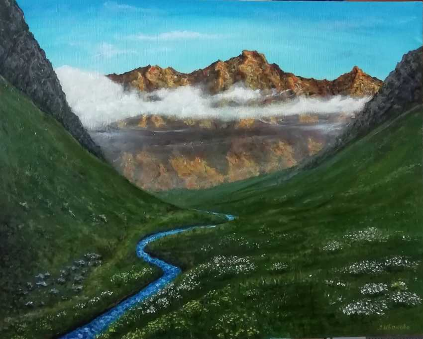 Lidiya Ivanova. Mountain landscape - photo 1