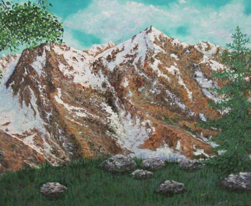 Lidiya Ivanova. Mountains - photo 1