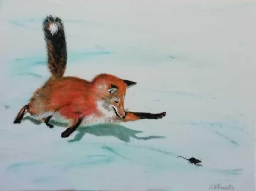 Лидия Иванова. Мышиная охота - фото 1